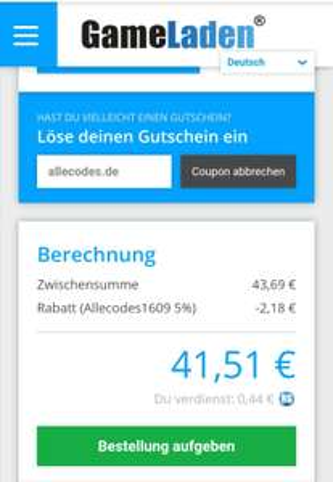 50€ PSN Guthaben für den deutschen Store