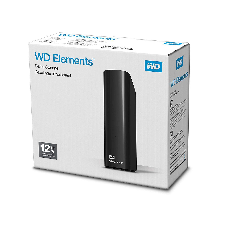 WD Elements 12TB USB 3.0 3,5Zoll [Amazon.co.uk] - Vorbestellung