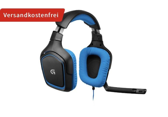 LOGITECH G430 Headset Schwarz/Blau 7.1 Dolby Surround Sound