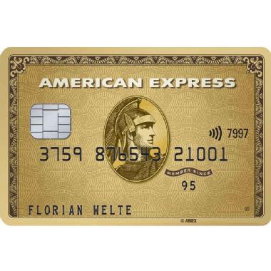 American Express (Amex) Gold - 100€ + 100€ durch KWK