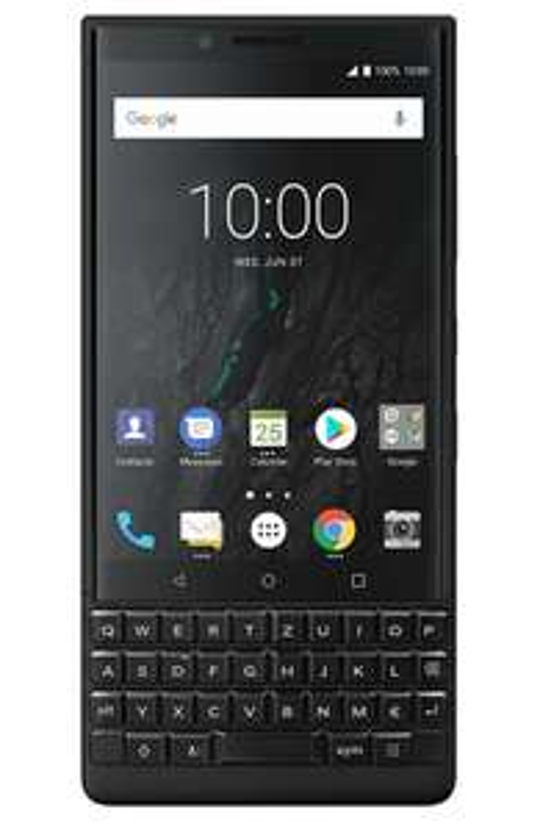 BlackBerry Key2 Dual Sim Smartphone 6/128 GB (4,5 Zoll Display, 12 Megapixel Kamera, LTE, Quick Charge 3.0, Android 8.1 Oreo) Schwarz