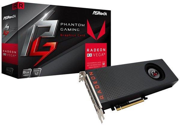 ASRock AMD Radeon RX Vega 56 Phantom GAMING X 8GB
