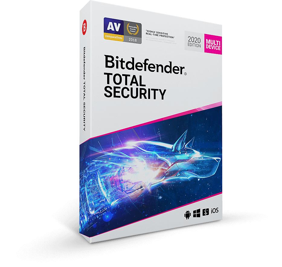 Bitdefender Total Security 2020 - 6 Monate komplett kostenlos (VPN)