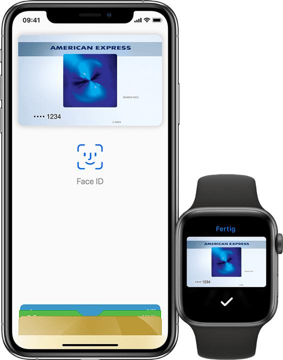 AMEX Blue Card mit 25€ Startguthaben Apple Pay tauglich