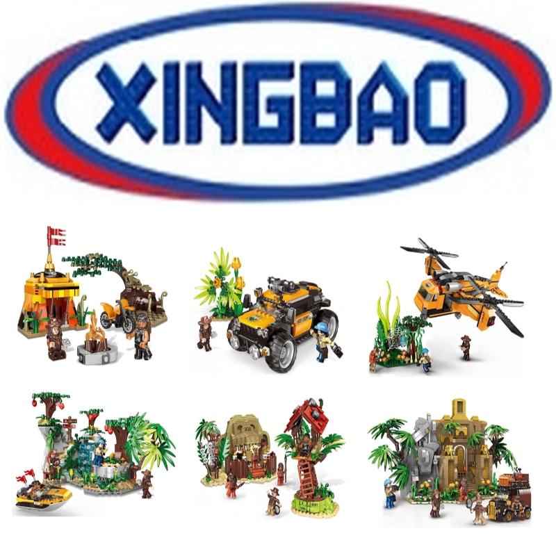[Klemmbausteine] Xingbao Bundle Sammeldeal @ BlueBrixx aus DE - kein ELGO