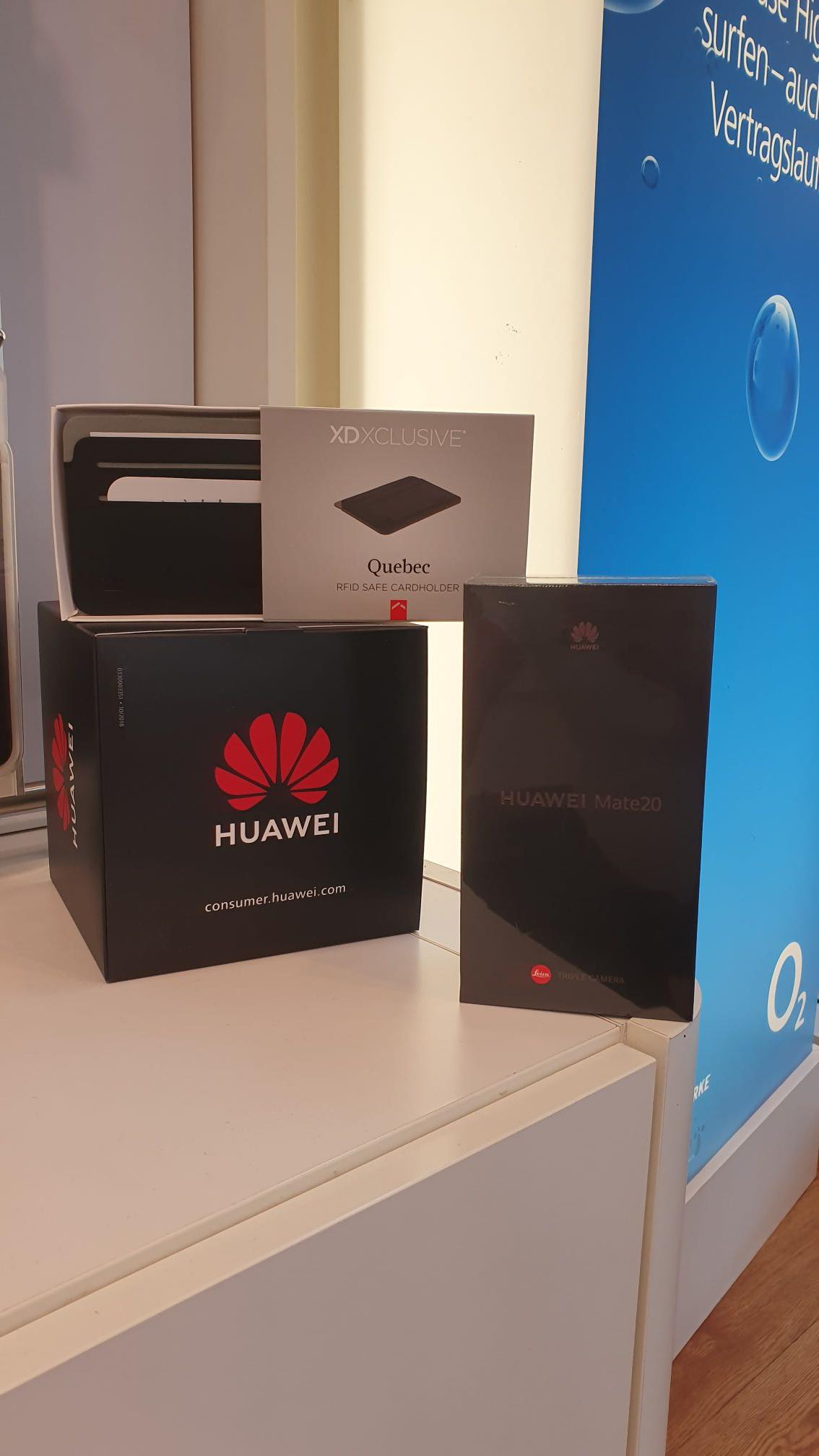 Huawei Mate 20 mit RFID Cardholder Werre Park Bad Oyenhausen