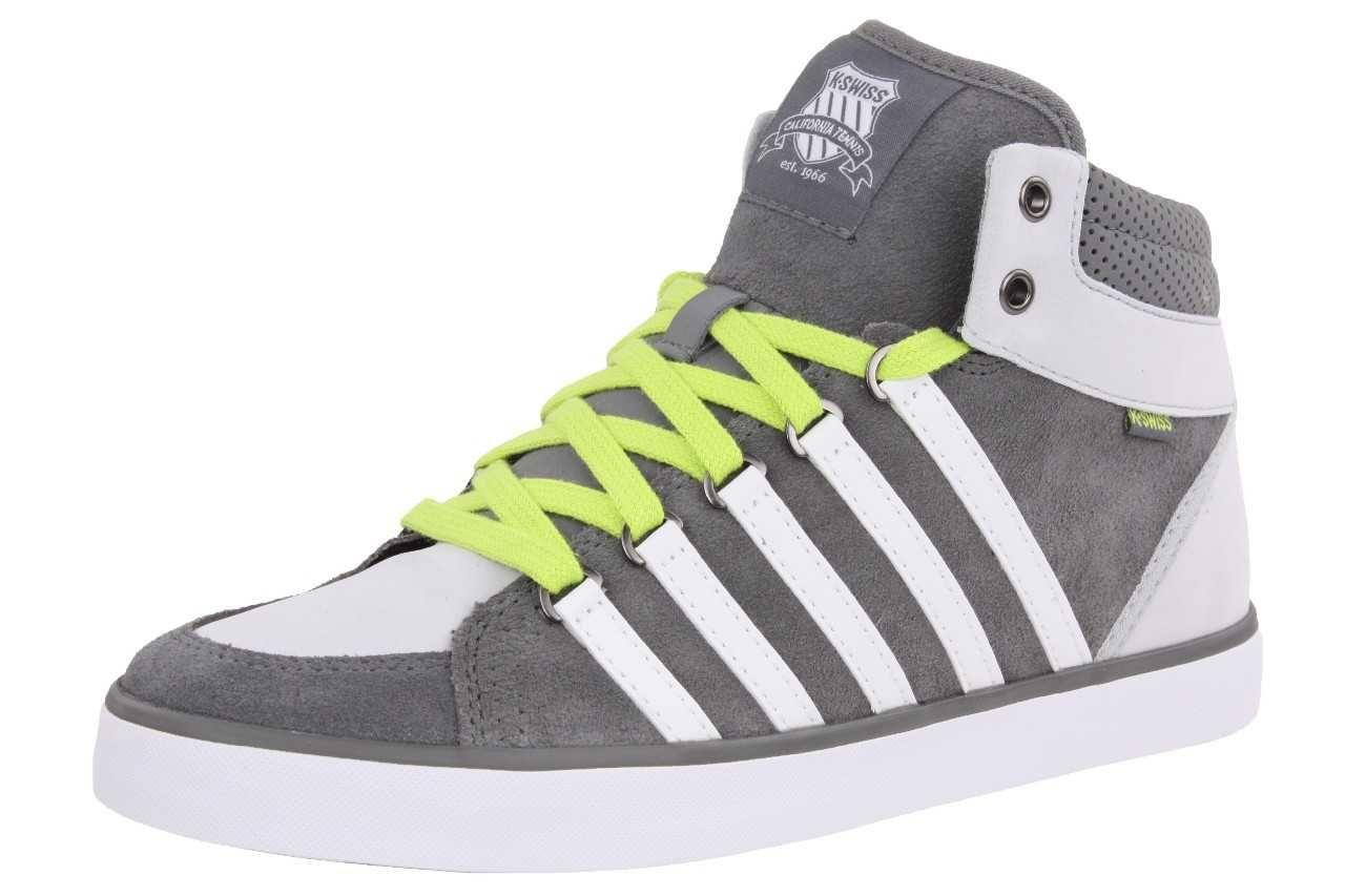 """K-Swiss Leder-Sneaker """"Gowmet II Mid VNZ"""" für Kinder oder Damen (Größe 35,5) *versandkostenfrei* [SNEAKERPROFI]"""