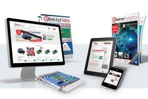 Kostenlos: ein Jahr die Zeitschrift Elektor (digital)