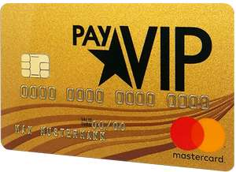 Kostenlose Reisekreditkarte: payVIP MasterCard Gold inkl. 40€ Amazon Gutschein und 10€ Shoop