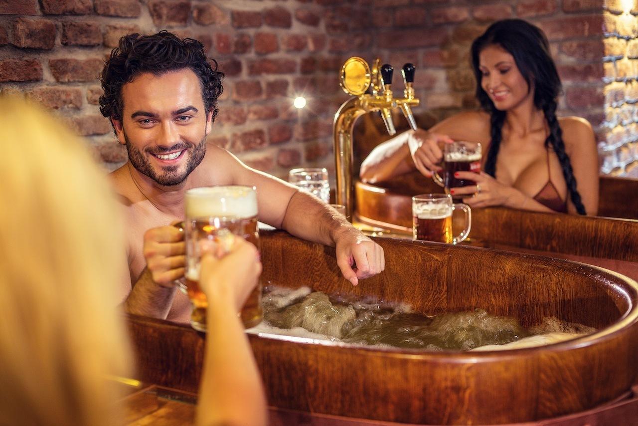 Bier-Spa in Prag: 2 Nächte im 4* Hotel mit Bier-Flatrate und Bier-Badewanne