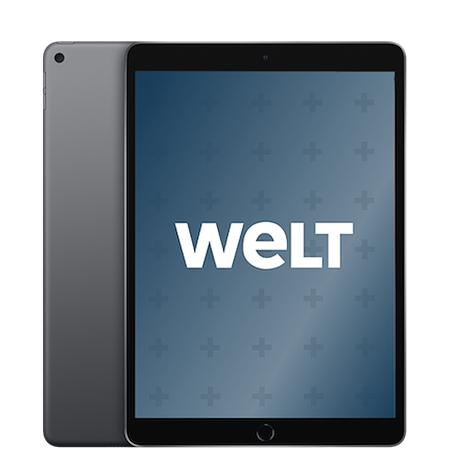 iPad Air 2019 64 GB  Wifi mit 24 Monaten WELTplus Gold