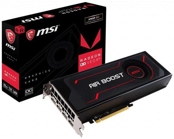 MSI Radeon RX Vega 56 Air Boost 8G 8 GB OC Grafikkarte | Computeruniverse