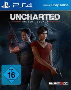 Uncharted: The Lost Legacy (PS4) für 9,99€ (GameStop)