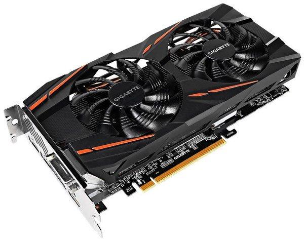 GIGABYTE Radeon RX 580 Gaming 8G MI 8 GB OC Grafikkarte
