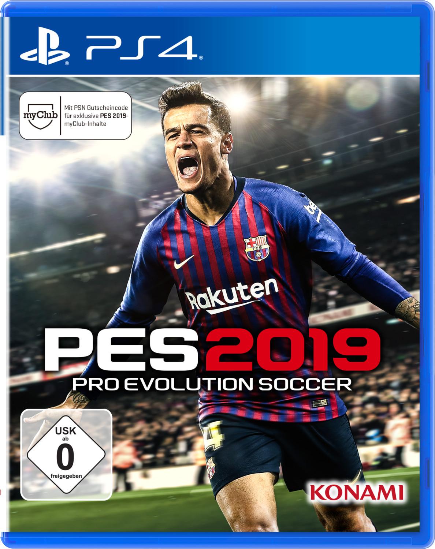 Pro Evolution Soccer 2019 (PS4 & Xbox One) für je 9,99€ (GameStop)