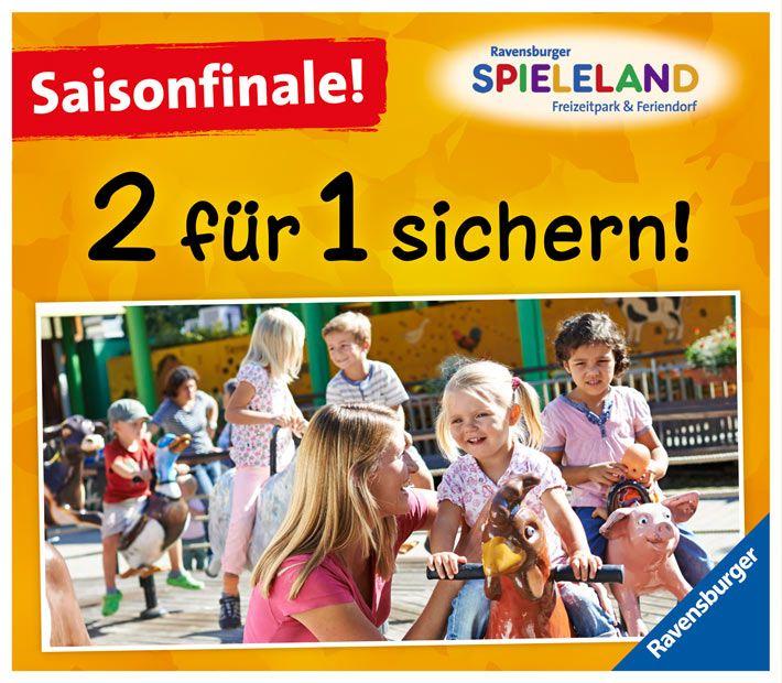 Ravensburger Spieleland 2 für 1