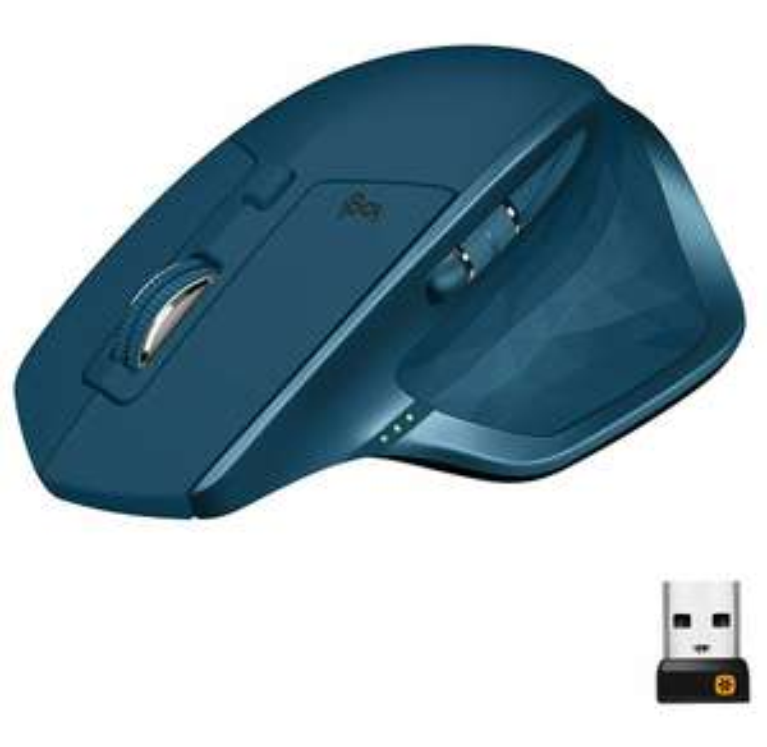 Logitech MX Master 2S kabellose Maus (Bluetooth, 4.000 DPI, für Mac & Windows) midnight teal