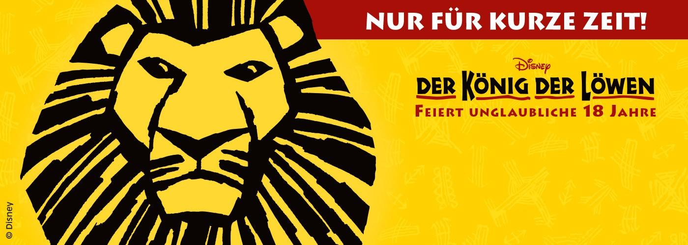 Der König der Löwen Geburtstagsspecial Stage Entertainment 2 Tickets ab 99€
