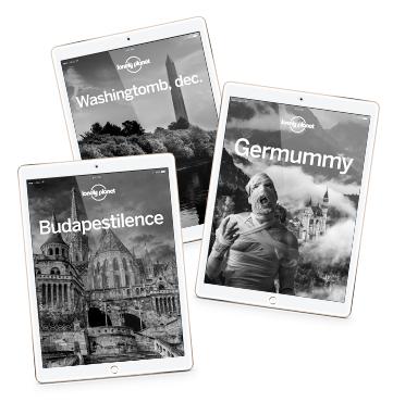 Alle englischsprachigen Lonely Planet Reiseführer als eBook für je 5,95€