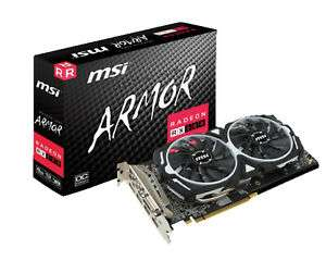 MSI Radeon RX 580 Armor 8GB OC + 3 Monate XBox Game Pass für PC + 1 Spiele-Downloadcode