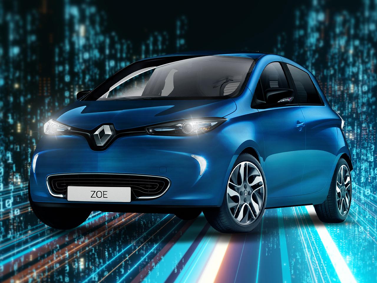 Renault ZOE 24 Monate 7 Tkm / Jahr Gratis Leasing für Gewerbe in Berlin durch Förderung