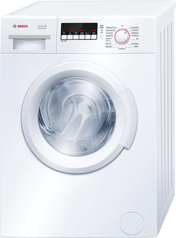Bosch Waschmaschine - WAB 28270 Frontlader, 6kg, 1400U/min. mit Energieeffizienzklasse A+++
