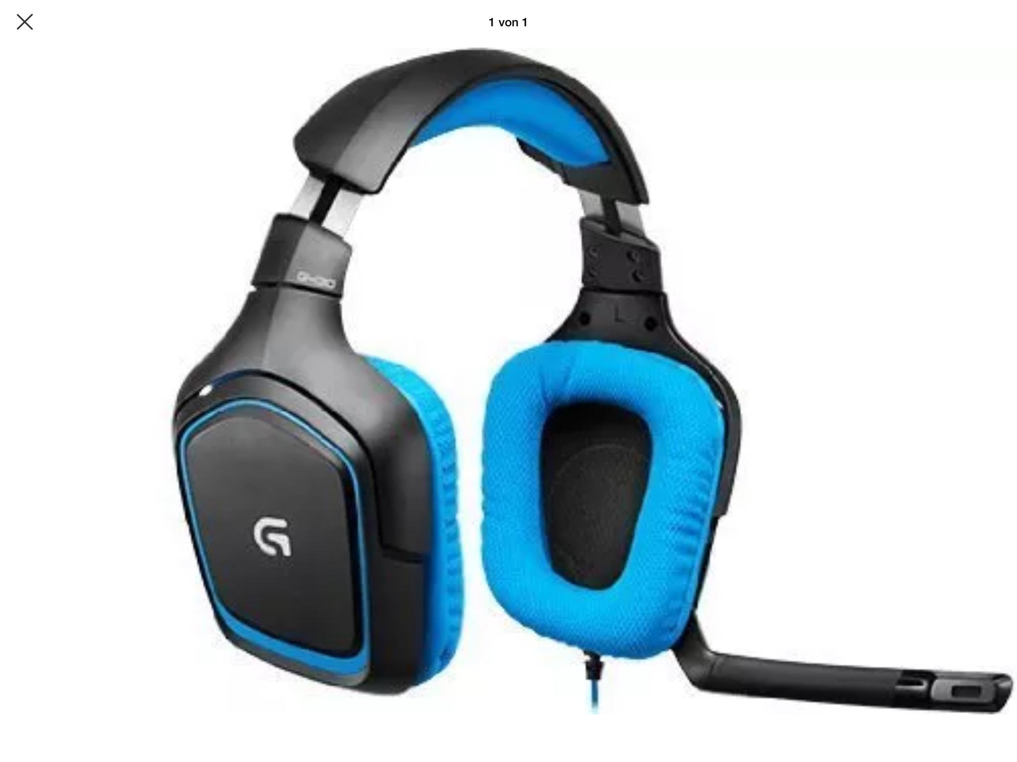Gaming Headset Logitech G430 als B-Ware