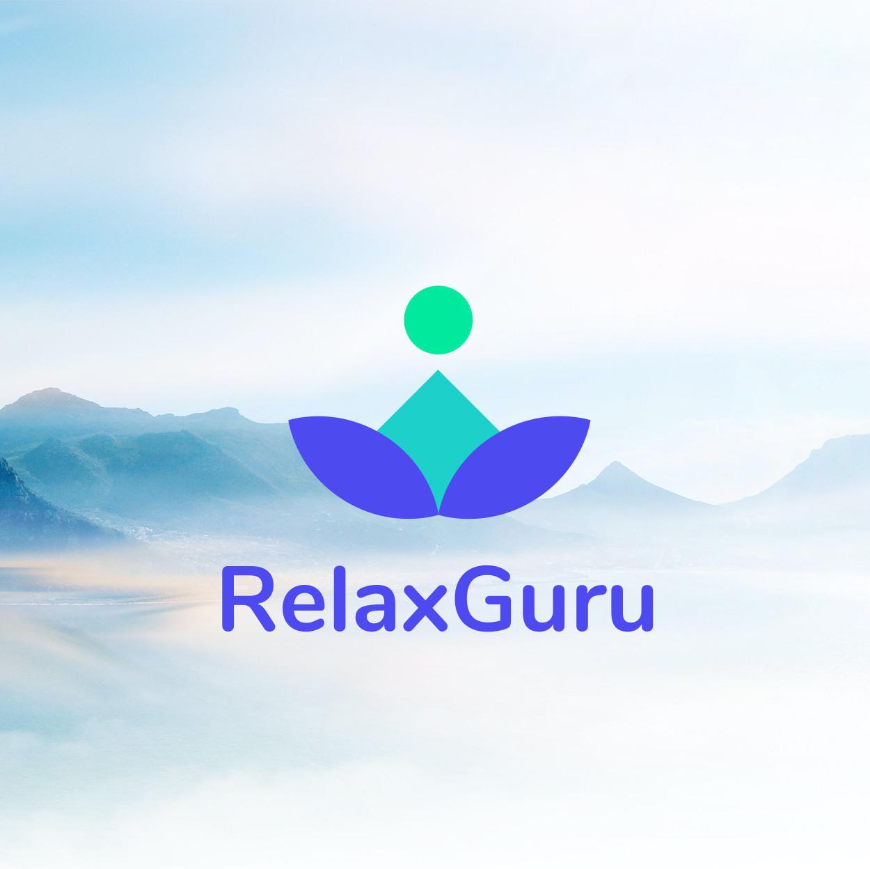 Relax Guru (Meditations App) - kostenloser Probemonat (danach 4,99€ / Monat)