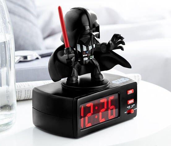 Tchibo: 11% Rabatt auf den %-Shop - zB Star Wars Wecker mit Lichtschwertkampf-Sound für 22,21€ inkl VSK