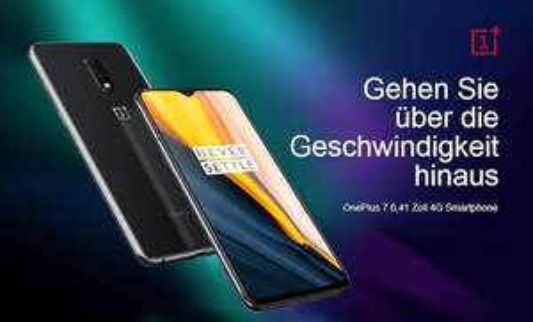 OnePlus 7 6,41 Zoll 4G Smartphone 8GB RAM 256GB ROM Internationale Version - Grau