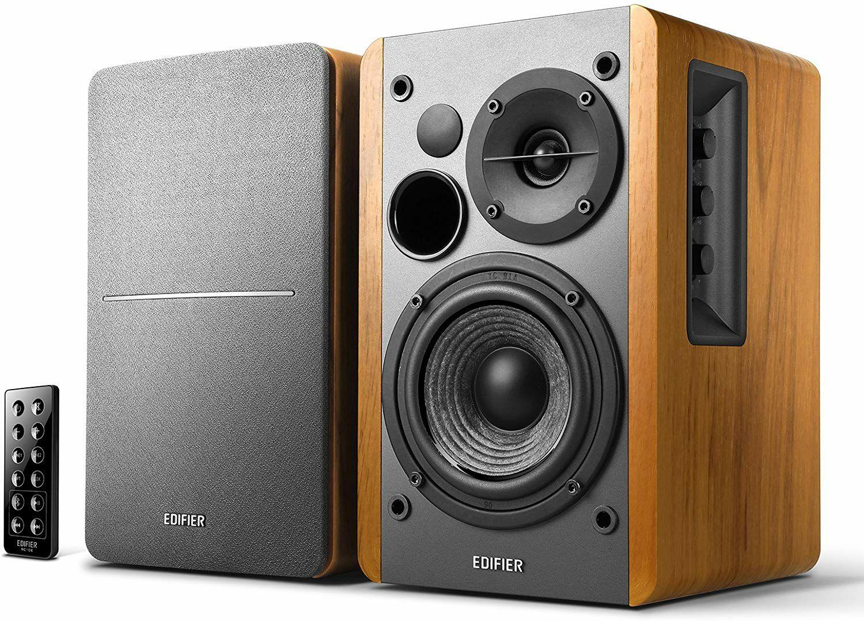 Edifier R1280DB - 2.0 Lautsprechersystem (1 Paar) mit Bluetooth und Digitaleingängen, holz (Amazon-Sediva)
