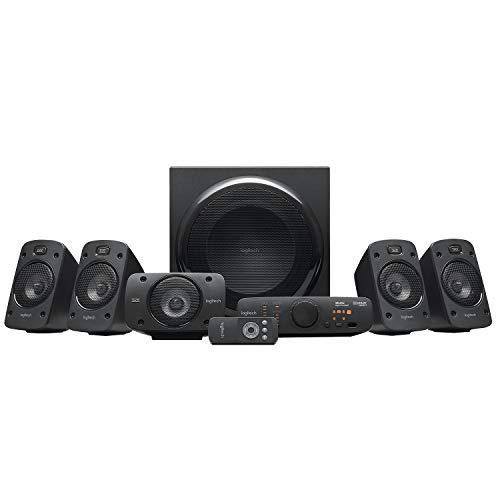 Logitech Z906 3D-Stereo-Lautsprecher, 500W, schwarz
