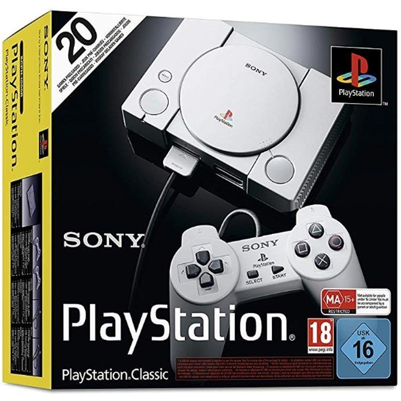 Sony PlayStation Classic Konsole inkl. 2 Controller für 24,95€ inkl. Versandkosten mit Paydirekt