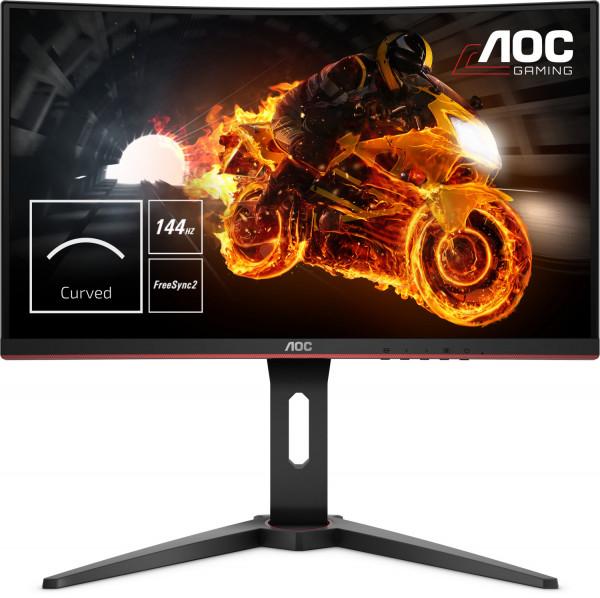 "AOC 24"" Monitor Gaming C24G1 - Schwarz - 1 ms AMD FreeSync C24G1"