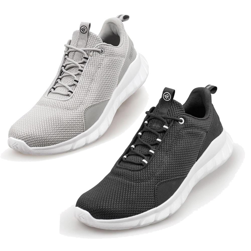 (Banggood) FREETIE Herren Sneakers grau oder schwarz (Größe 40 - 44 nur Kindergrößen)