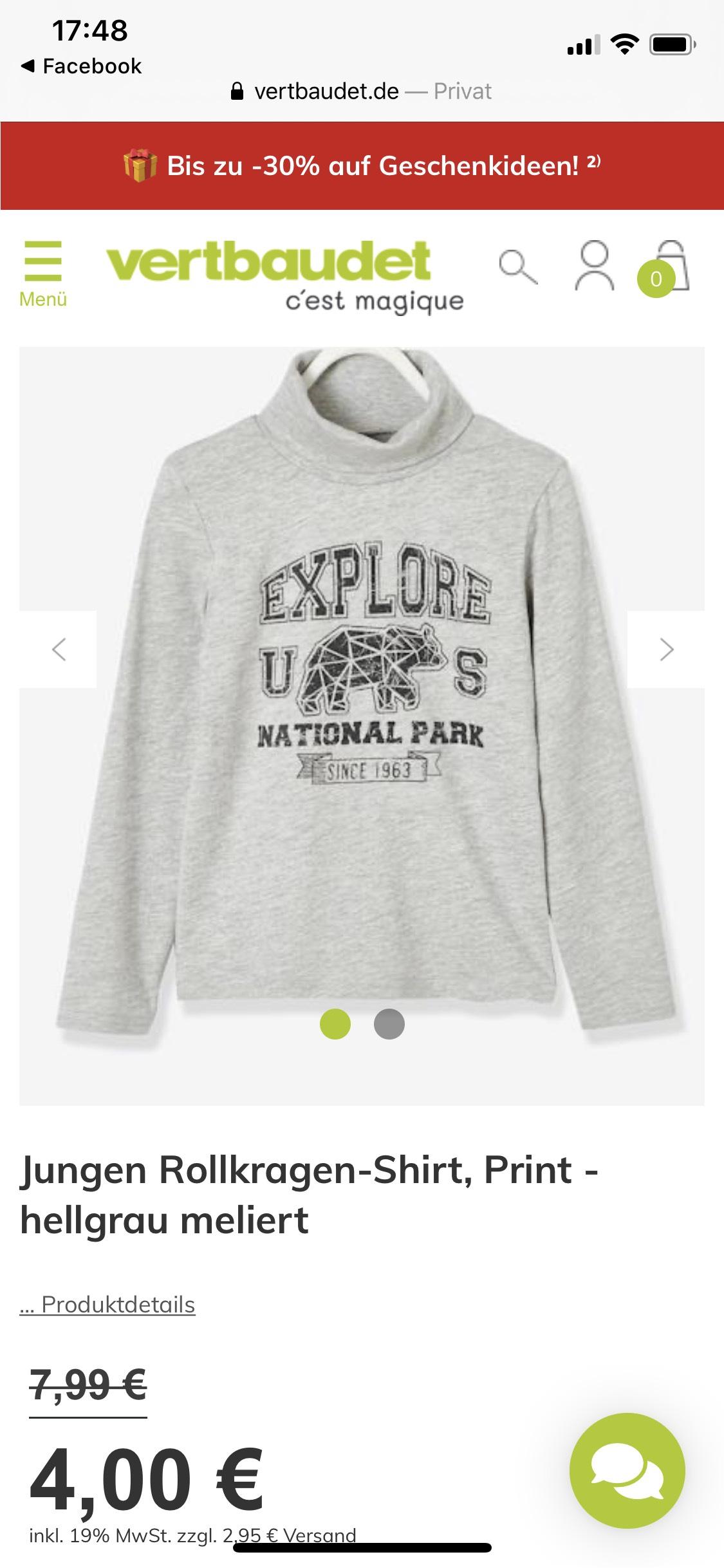Vertbaudet Flash Sale Jungen und Mädchen Pullover im Angebot