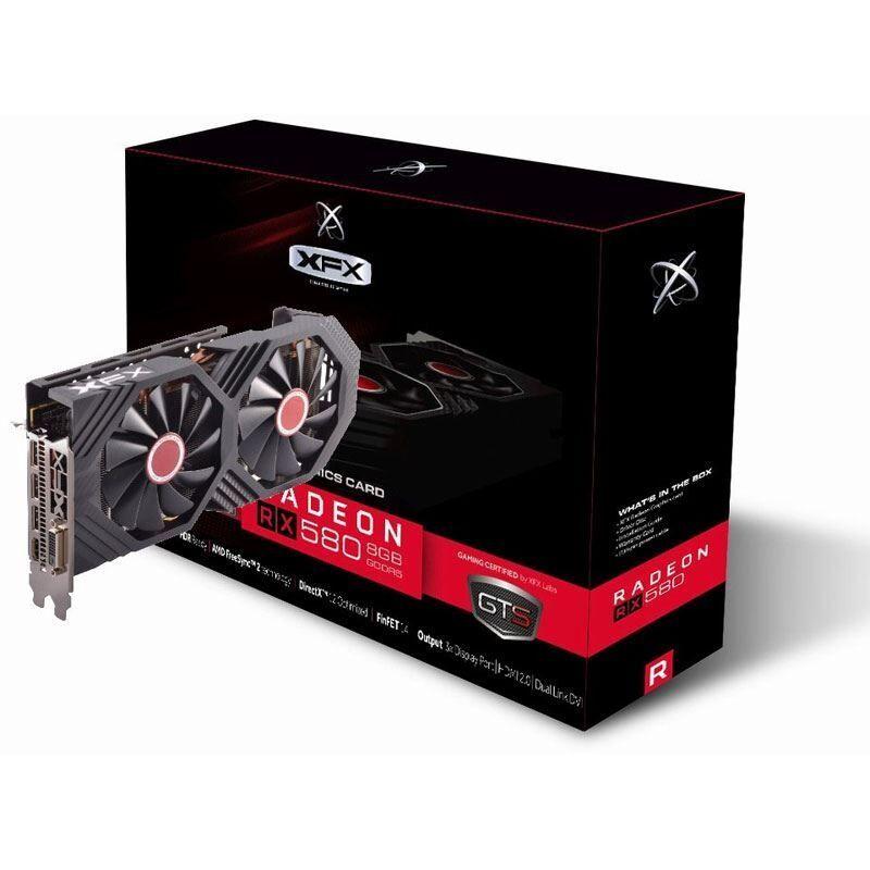 XFX Radeon RX 580 GTS XXX Edition 8GB GDDR5 Grafikkarte [Paydirekt]