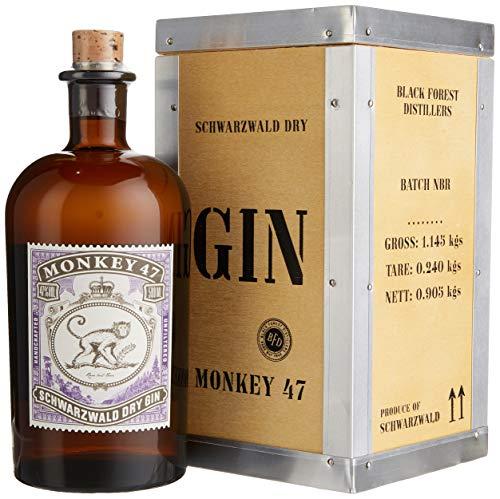 Monkey 47 Holzkiste Gin (1 x 0.5 l)