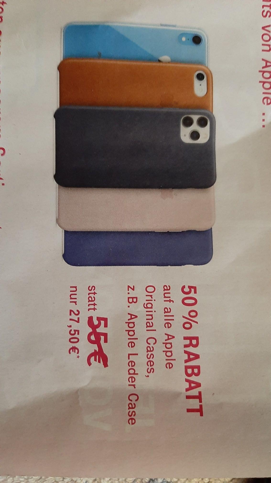 Original Apple Cases Telekom zB. IPhone Leder Case (Offline)