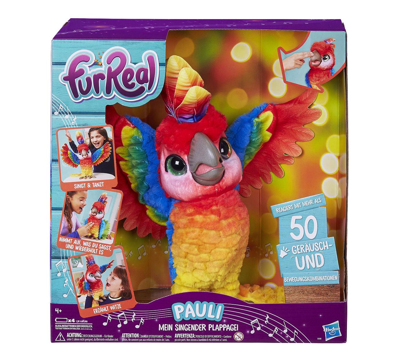 FurReal Friends Pauli, mein singender Papagei