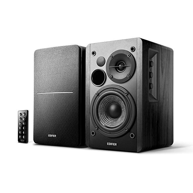 Edifier Studio R1280DB - 2.0 Bluetooth-Lautsprechersystem (42 Watt, Infrarot-Fernbedienung) für 88€