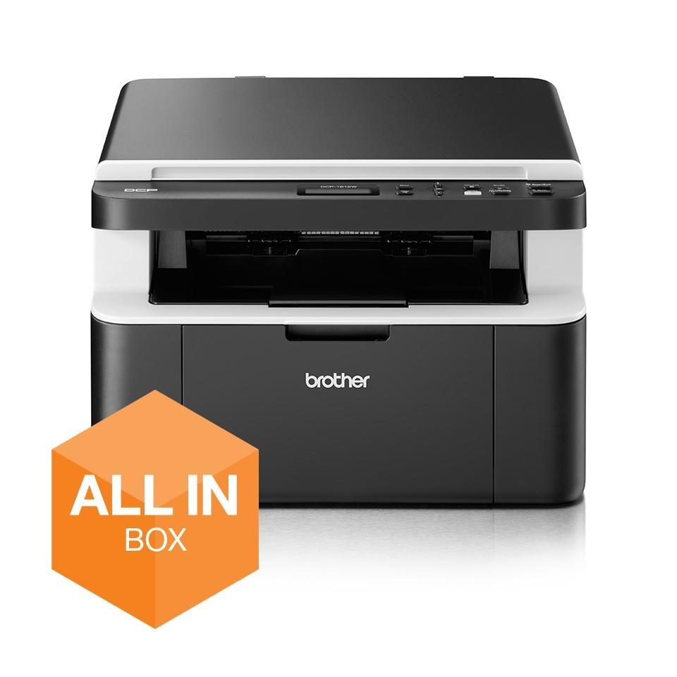 [Office-Partner] Brother DCP-1612WVB Laser-Multifunktionsgerät s/w inkl. 5 Toner