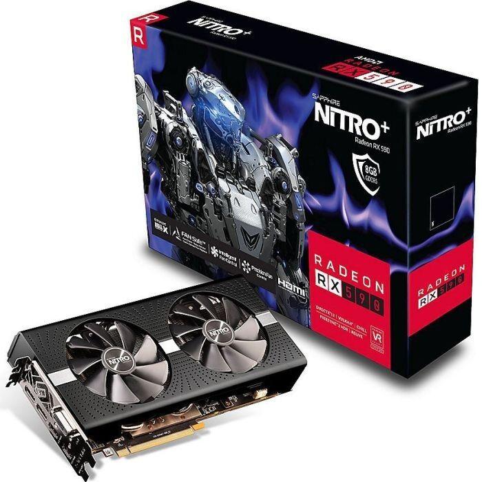 Sapphire Nitro+ Radeon RX 590 8GD5 8GB GDDR5, DVI, 2x HDMI, 2x DisplayPort