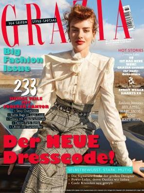 1 Jahr Zeitschrift Grazia für 170€ mit 170€ Amazon Gutschein als Prämie