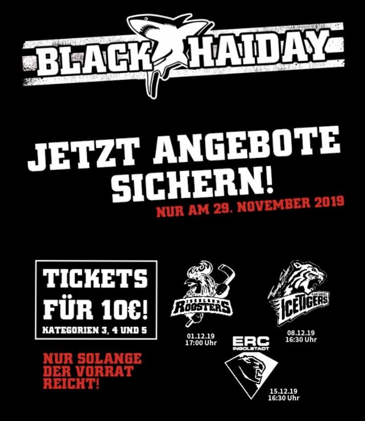 Kölner Haie Ticket für 10,00€ an 3 Terminen im Dezember