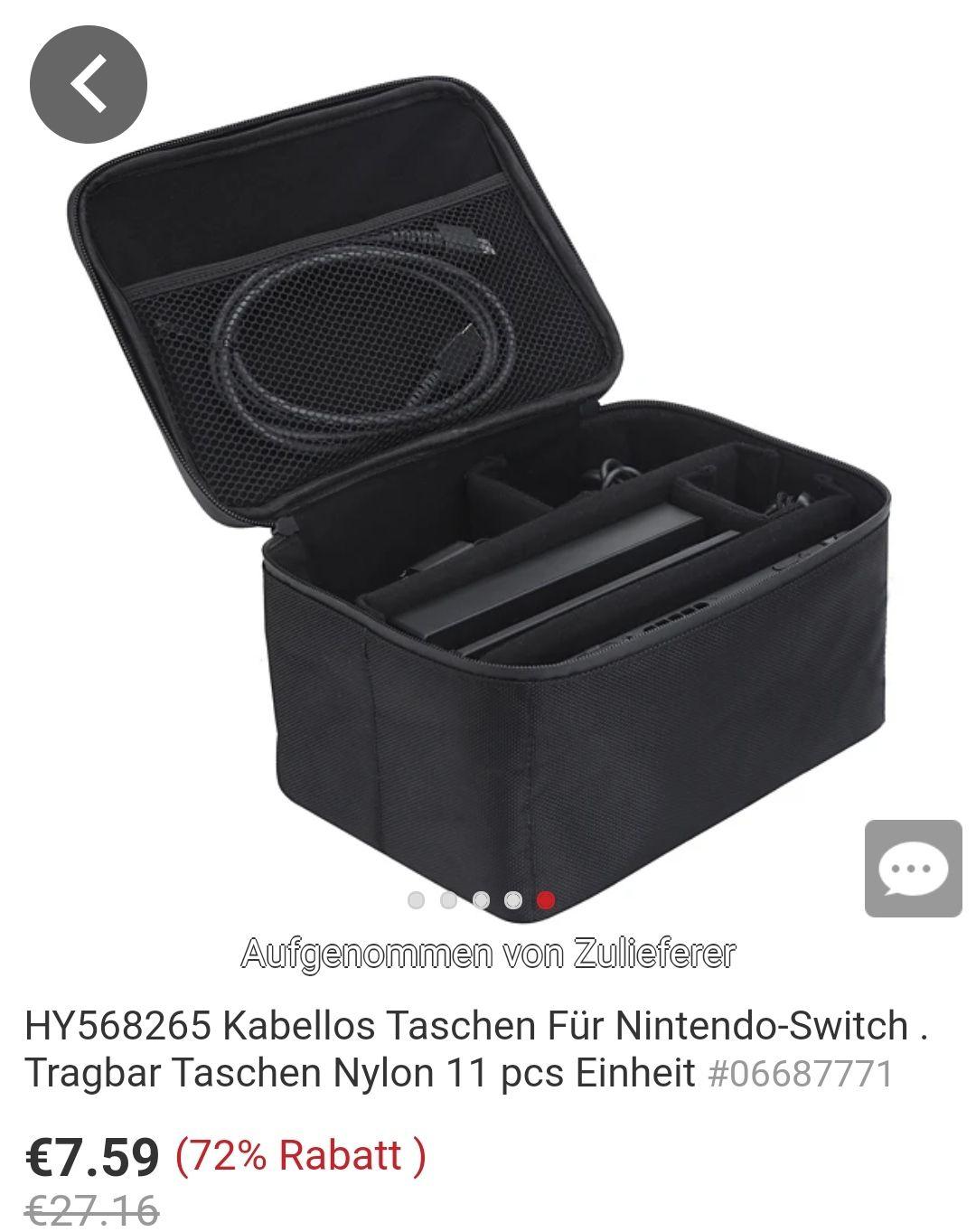 Reisetasche für Nintendo Switch
