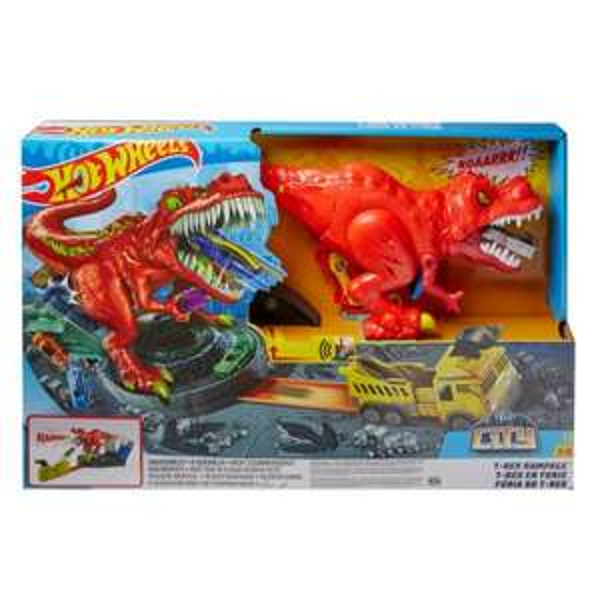 Hot Wheels City T-Rex Attacke