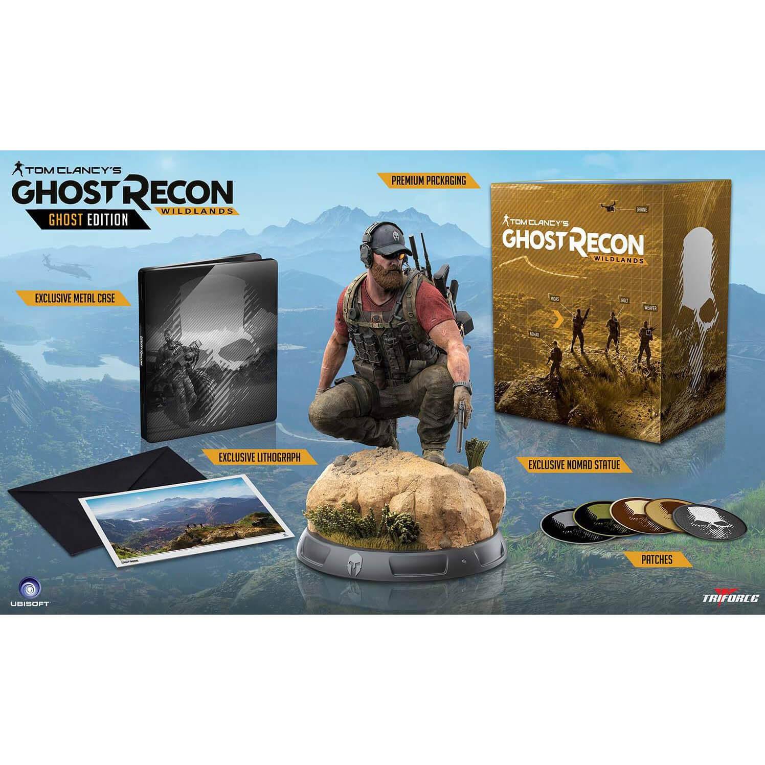 Ghost Recon Wildlands Collector's Edition (ohne Spiel) für 21,48€ (Zavvi.de)