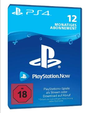Playstation Now - 12 Monate [PS4] - Deutschland