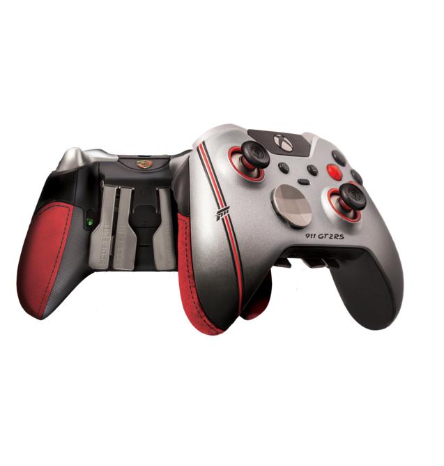 SCUF FORZA Controller Bundle (Xbox Elite Controller + Xbox Live 12 Month Gold + Porsche 911 GT2 RS in GT-Silbermetallic 1:43...)